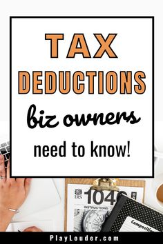 Business Tax Deductions, Tax Refund, Small Business Tax, Business Travel, Cost Of Goods Sold, Accounting Information, Financial Success, Retirement Planning, Small Businesses