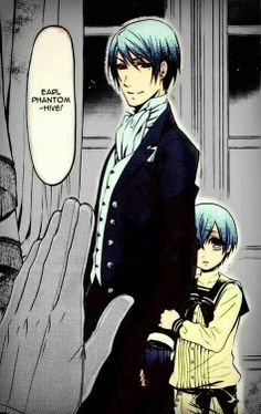 Vincent & Ciel <-------- Why does that hand look like Sebastian's?!?!?!?