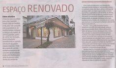 Matéria sobre nova loja da Spazio Del Bagno, cuja banheira foi adesivada com arte criada pelo nosso escritório RRD&C.