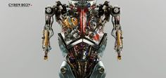 Vladislav Ociacia's Robot Renders Are Works Of Art