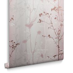 Wild Flower Wallpaper in Blush from the Exclusives Collection by Graham & Brown Grey Floral Wallpaper, Watercolor Floral Wallpaper, Blush Wallpaper, Summer Wallpaper, Flower Wallpaper, Rose Gold Bedroom Wallpaper, Wallpaper Ideas, Vintage White Bedroom, Blush And Grey