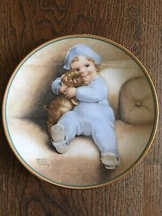 Bessie Pease Gutmann Going To Town Ltd Edition Collector Plate COA Boxed