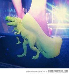 T-Rex High Heels.