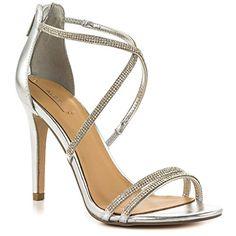 de132a82c Aldo Womens Arenani dress Sandal Silver 85 B US    Click on the image for. Women s  Shoes ...