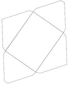 AQUARELINHA: Moldes Envelopes