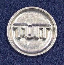 """Three Feathers Pewter Round TUIT Coin What do they say """"I'll do it when I get around to it""""?  Give them the Round TUIT Coin and there will be no excuses."""