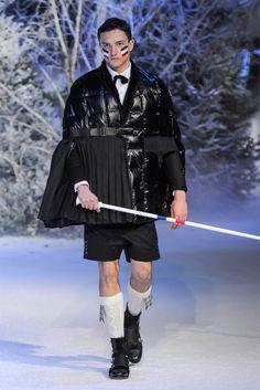 Moncler Gamme Bleu Fall/Winter 2013 | Milan Fashion Week  This looks fun.