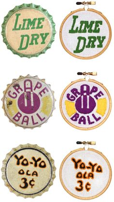 vintage bottle caps