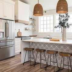 8 Glowing Simple Ideas: Kitchen Remodel House new kitchen remodel ideas.Farmhouse Kitchen Remodel To Get. Kitchen Inspirations, Home Decor Kitchen, Kitchen Remodel, Kitchen Decor, Interior Design Kitchen, New Kitchen, Sweet Home, Home Kitchens, Kitchen Renovation