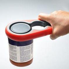 Ouvre pots et bocaux en silicone