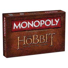 The Hobbit Trilogy Monopoly