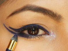 L'Oreal Paris Infallible Silkissime Eye Liner Plum Prune EOTD