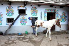 Zalipie Polands Intense Floral Village Lazer Horse