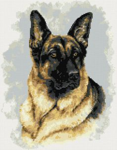 Royal Paris Tapestry//Needlepoint Kit Belle German Shepherd Dog