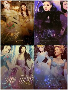 Disney and Once Upon a Time.
