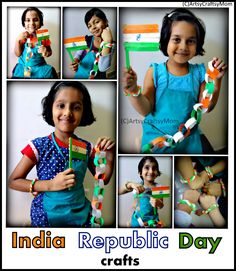 You searched for 50 Ideas for India Republic Day or Independence Day party - Artsy Craftsy Mom Holiday Crafts For Kids, Crafts For Kids To Make, Crafts For Girls, Festivals Of India, Indian Festivals, Independence Day Activities, Hobbies For Girls, Peacock Crafts, India Crafts