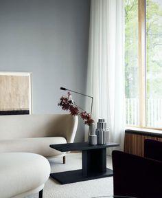 Un salon aux lignes résolument modernes et design