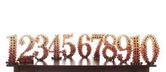Ten Upcycled Wine Cork Table Numbers 110 Weddings by LadyKatieShop, $175.00