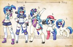 Types DJ Pon-3 by shepherd0821 on DeviantArt