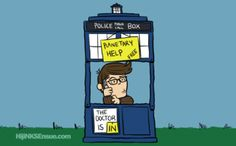You're the Last of the Time Lords, Charlie Brown.