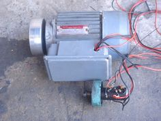 "COLCHESTER STUDENT 6"" ROUNDHEAD, DRIVE MOTOR 240V, SWITCH & STARTER"