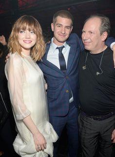 Emma Stone, Andrew Garfield & Hans Zimmer