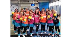 We've taken some favourite tracks from yesteryear and thrown Dodgeball into a mixing bowl to bring you the fun Manchester Disco Dodgeball hen party activity.