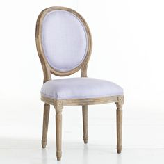 W8095Louis XVI Dining Chair - Lavender.  Wisteria.  $299