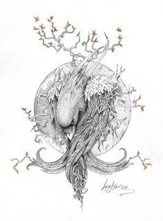 lohrien:  The Raven by Lorena Assisi