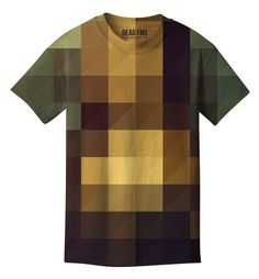 PIXEL T-SHIRT |  Wear this the next time your drivers license photo is taken! http://www.raddestlooks.org