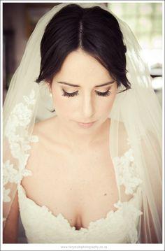 natural makeup | Gita and Rick's Farm Wedding