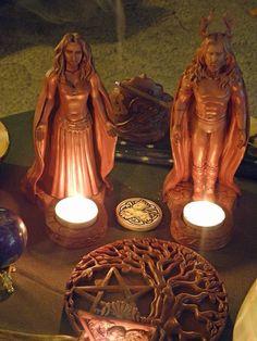 The God and Goddess on the Altar