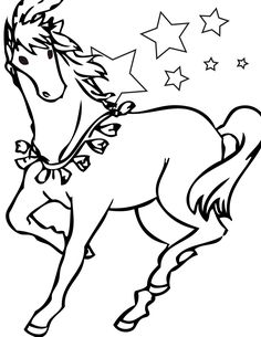 horse color sheets printable for kids are here for you who need coloring media to train your kids creativity