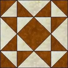Quilt-Pro - Block of the Day-Sawtooth Star...The Block of the Day is available to all quilters, regardless of whether you own our software programs.