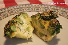 Sformatini di broccoli ai formaggi   Ricetta antipasto o contorno