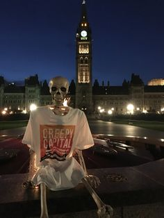 Barnaby stopping to take in the beautiful Parliament Buildings at night Spooky Scary, Creepy, Ghost Stories, Skeletons, Ottawa, Spring 2016, Classic Hollywood, Book Covers, Lazy