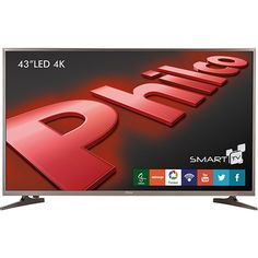 [AMERICANAS] Smart TV 43pol Philco PH43E60DSGW 4K no Card Americanas R$ 1.538,10