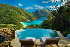Breathtaking place to spend your holidays - Guana Island, British Virgin Islands.