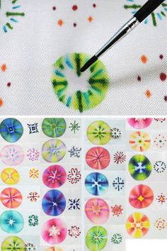 DIY Sharpie and Alcohol Fabric Tutorial from Creative in...