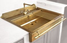 BRASS SINK-wow amazballs
