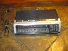 RARE VINTAGE GENERAL ELECTRIC GE 7-4670 Digital Tuner Alarm Clock Radio  #GE