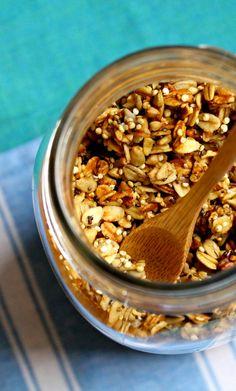 Cinnamon Banana Quinoa Granola ~ A deliciously healthy granola, Gluten-free and vegan, too!