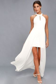 My Beloved White Lace Maxi Dress 7