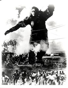 King Kong vs. Godzilla (1962).This movie didn't travel through time particularily well, but  it was one of the most wonderful things that ever happened to a particular seven-year-old.