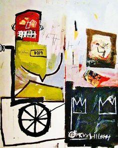 Jean-Michel Basquiat – Number 4, 1981