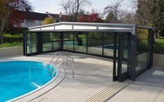 #abri #piscine #haut Abri de piscine coulissant pour une sécurité optimale