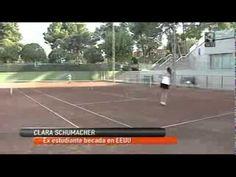 Las tenistas Clara Schuhmacher y Sandra Burges, en Aragon Televisión. Ambas tenistas llegaron a Estados Unidos ayudadas por AGM Sports (www.agmsports.com), y en la entrevistan detallan sus experiencias en tierras americanas y sus planes de futuro.