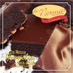Desejamos um ótimo final de semana!!! #love #DiNorma #Brownie #Delicia