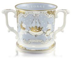 Official Prince George commemorative loving cup Historic Royal Palaces
