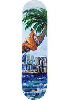 5Boro Caliente-Palm-Chica, Deck, multicolored Titus Titus Skateshop #Deck #Skateboard #titus #titusskateshop